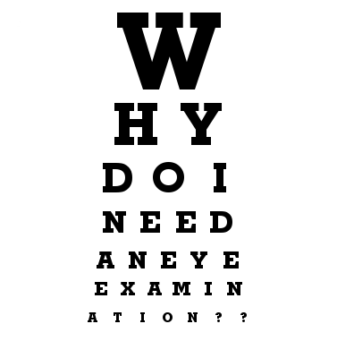 Do I need an eye exam